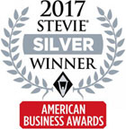 2017 Stevie Silver Winner - American Business Awards